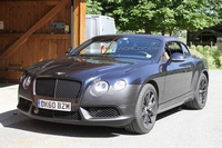 2012 Continental GTC Speed betrapt