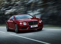 Bentley Continental V8 op komst