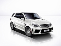De eerste Mercedes ML tuningkit