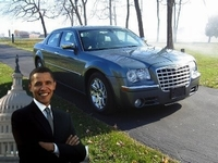 President Obama's Chrysler te koop