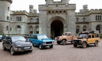 50 jaar Land Rover op Eastnor Castle