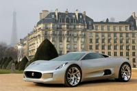 Jaguar Project C-X75 gespot in Parijs
