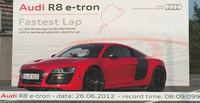 Audi R8 e-tron pakt e-record op 'de Ring' UPDATED