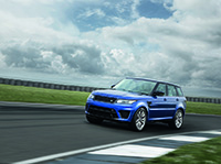 Land Rover's eerste high-performance SVR model
