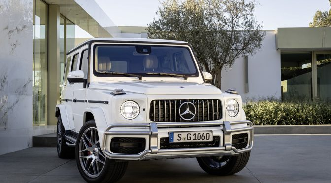 Release: Mercedes G 63 AMG
