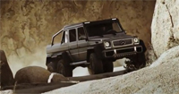 Mercedes G63 AMG 6×6 pick-up