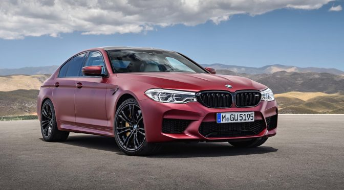 Release: BMW M5 2018